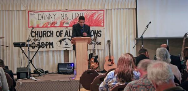 Pastor Danny Preaching in Albany