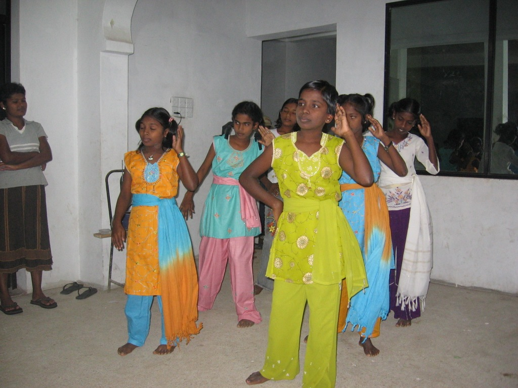 Girls in Dance Contest