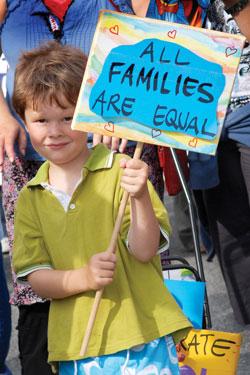 Equal Families Photo: Vicki Jones