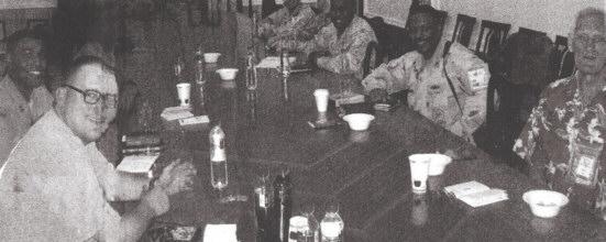 Alpha Course Around Saddam's table