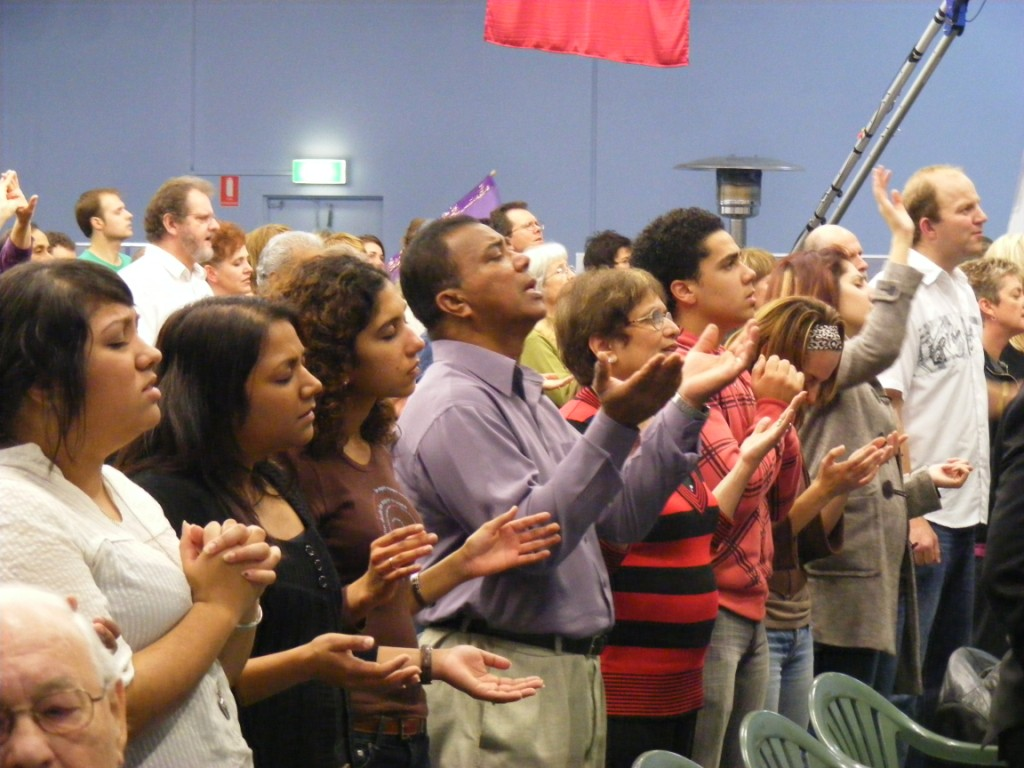Crowd In Worship