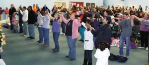 United In Prayer At RUA Meeting