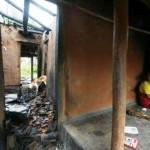 Christian Homes Burnt