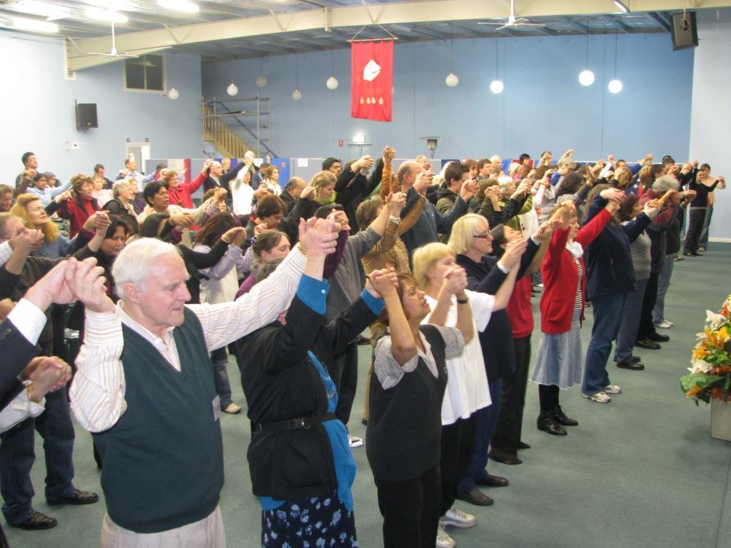 United In Prayer For Australia