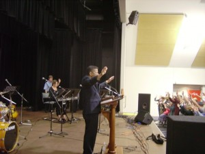 Pastor Daniel Ministering