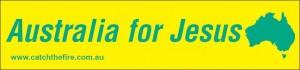 Australia For Jesus!