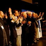 Denominational Leaders United in Prayer on Stage