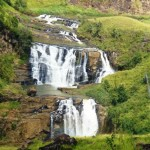 St. Clair\'s waterfall in Sri Lanka