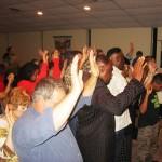 At The Altar In Dallas, Texas