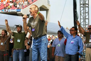 Lou Engle and Christians Praying for a Jesus Revolution