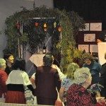 Succah temporary shelter and harvest feast