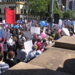 Anti-Abortion Rally at Victorian Parliament