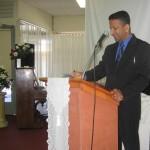 Pastor Daniel ministering in Moe