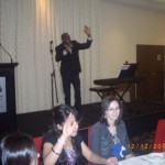 Ola singing special item to the Lord