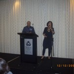 Victor & Christine singing special item to the Lord