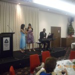 Shannen and Pryia singing special item