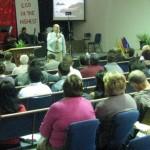 Pastor Wayne from USA ministering in Kingdom Revival in Melbourne, Australia