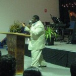 Dr Jackson from USA ministering at Kingdom Revival in Melbourne, Australia
