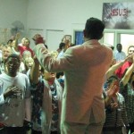 Pastor Daniel leading the people of God to seek His Face