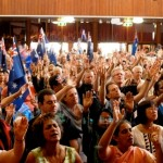 Christians worshipping the Lord Jesus Christ in Great South Land of the Holy Spirit