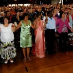 Christians uniting as the body of Christ to pray for Australia