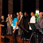 Shannen Nalliah leading CTFM worship team