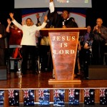 Dr Jackson from USA proclaiming Jesus is Lord