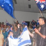 Pastor Daniel leading the body of Christ in dedicating Australia to the King of kings and Lord of lords