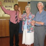 Lady healed from deafness in both ears