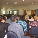 Preaching the Word of God at Forest Lakes AOG in Brisbane