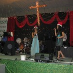 Shannen and Priya sing to the Lord of lords!