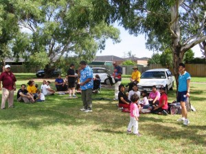 Some of CTFM family enjoying a picnic and fellowship