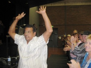 Man healed from hip problems and gives life to Jesus
