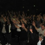Worshipping Jesus at Canberra Revival