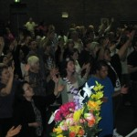 Worshipping the Lord at Canberra Revival