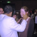 Young lady healed from partial deafness