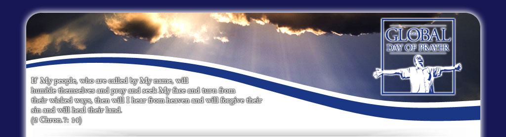 Global Day of Prayer on Pentecost Sunday 23rd May