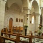 Church of nativity inner courtyard