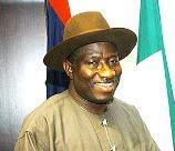 Dr Goodluck Nigerian President