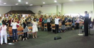Ministering at Apostolic Prophetic Conference in QLD