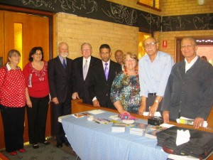 Ps Daniel with Rev Fred Nile and others at Conference