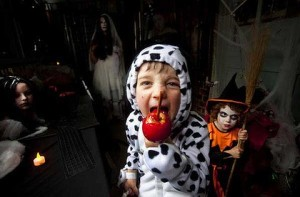 Children deceived by the danger, darkness, and evil of Halloween