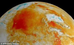 Measurements from space are used to see how temperatures are changing