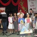Children sing Away in a Manger