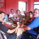 CTFM team have lunch at orphange in SL