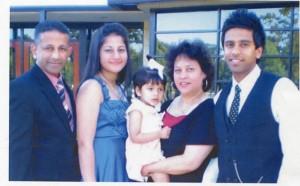The Nalliah Family