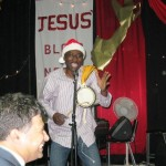Ola leads African Worship Dance