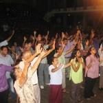 People worship Jesus at CTFM Revival in SL