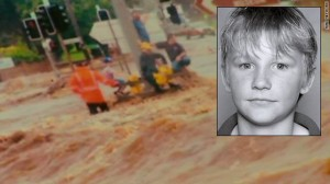 Teenager lost in the floods