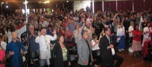 Christians united in prayer